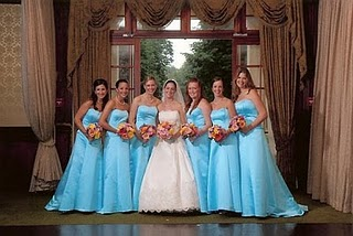 Bridesmaid Dress Colors and Their Implications