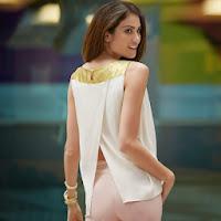 Bluza incrucisata la spate pentru femei