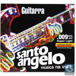 ENCORDOAMENTO PARA GUITARRA 0.09 SANTO ÂNGELO