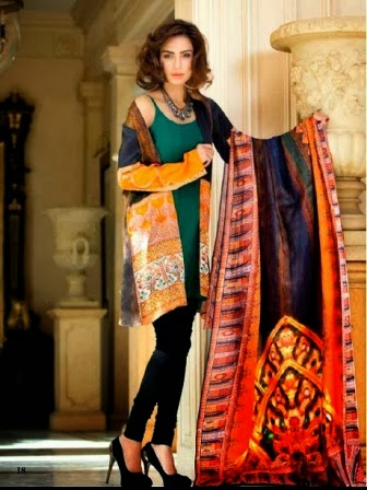 Gul Ahmed Silk Dresses