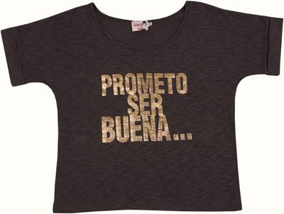 camiseta prometo ser buena