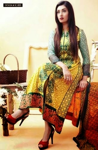 Amna Ismail Summer Lawn Collection 2015 For Women