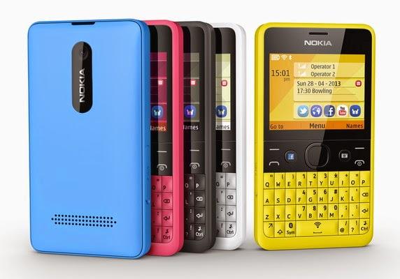 Harga dan Spesifikasi Hp Nokia Asha 210 Terbaru [UPDATE]