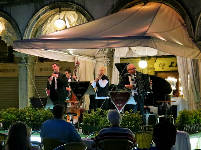 St Mark's square Venice performance