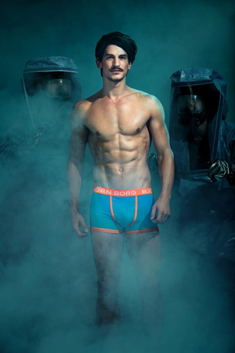 Jarrod Scott for Bjorn Borg Nudeclear SS14 Campaign