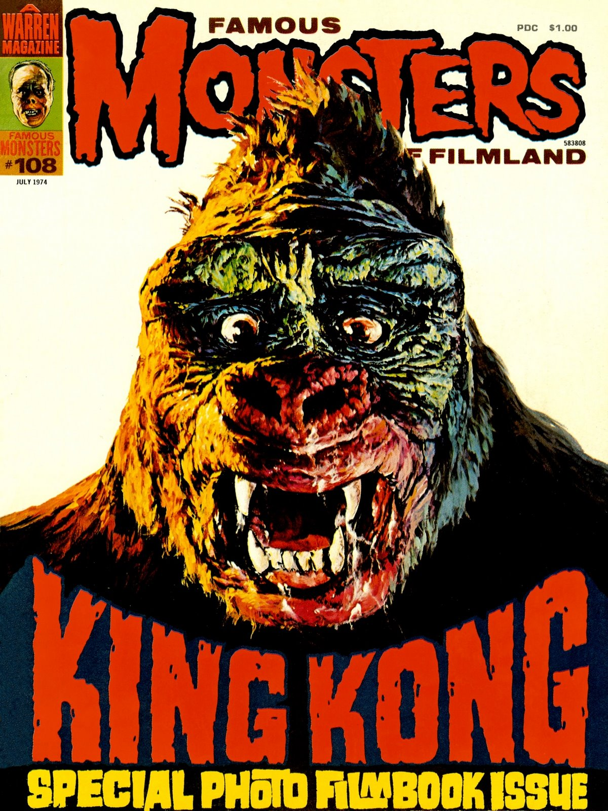 FAMOUS MONSTERS #23 -  MONSTER MAG Halloween auction!