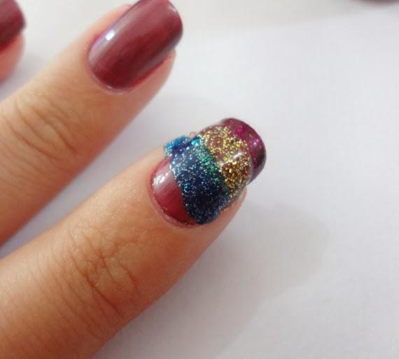 Sugestões, ideias e dicas de Unhas com Glitter