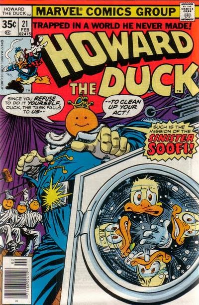 Howard the Duck #21, Sinister Soof