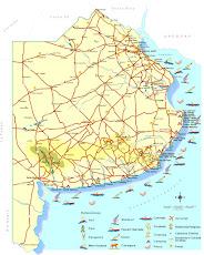 Mapa de Buenos Aires (Argentina)