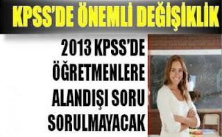 2013 KPSS nasıl olacak