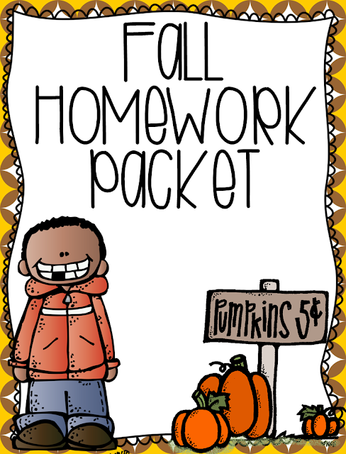 http://www.teacherspayteachers.com/Product/Fall-Homework-Printables-984452