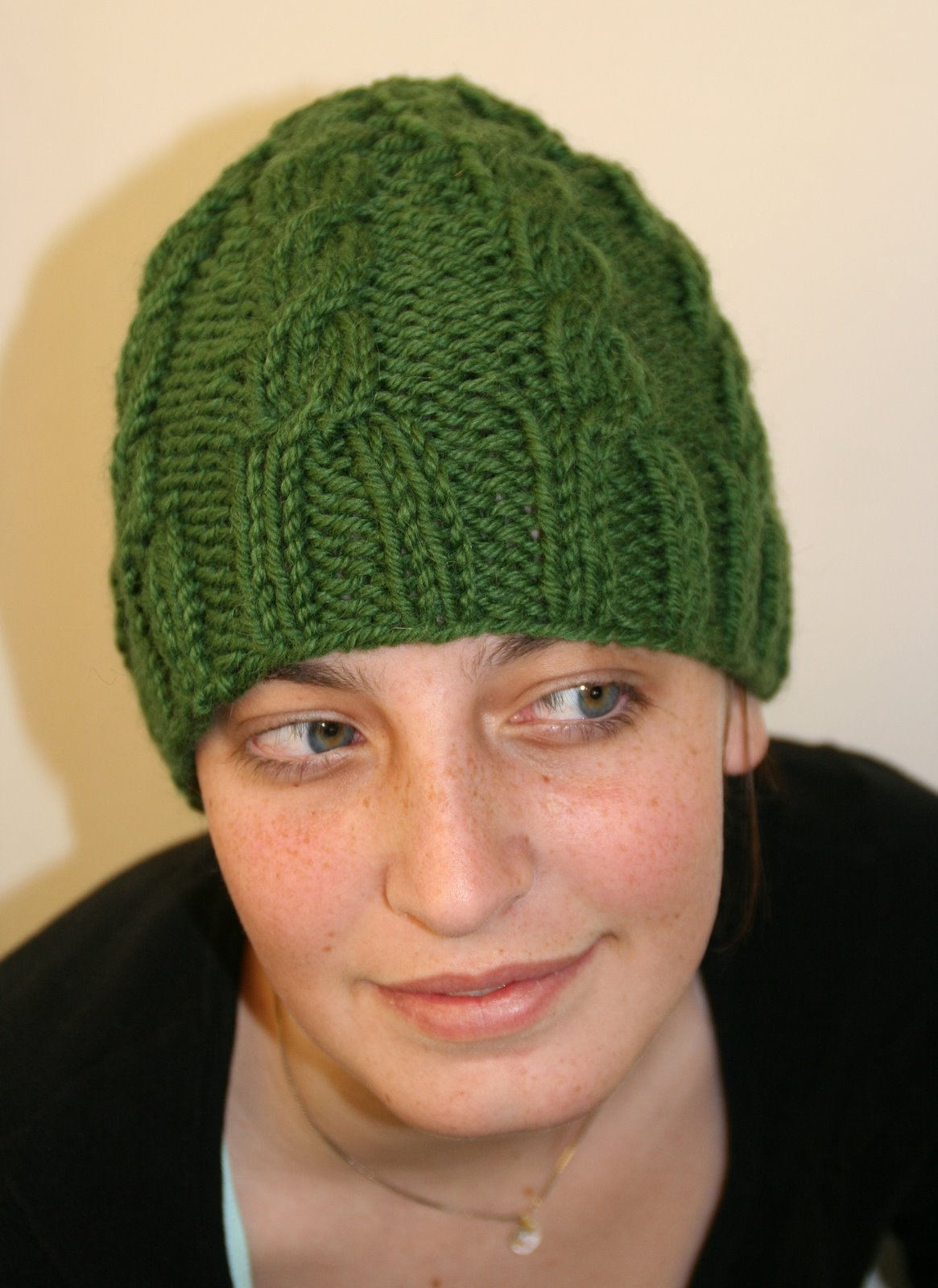 Free Knit Beanie Pattern : Knitting Patterns Free: new knit hat