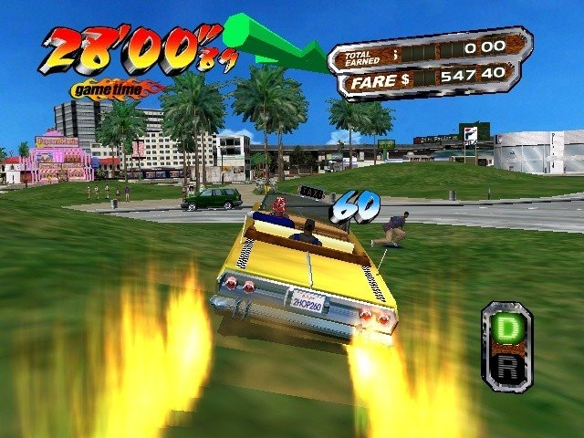 Crazy Taxi 2 Game for PC Free Download ( Edition)