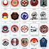 Lambang 25 Perguruan Karate di Indonesia