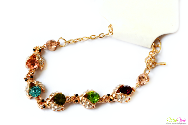 Fashion Crystal Metal Bracelet