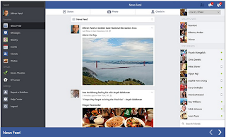 Facebook Windows 8