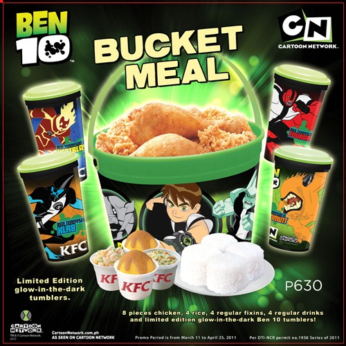 KFC Ben10 Bucket MealKfc Bucket Meal