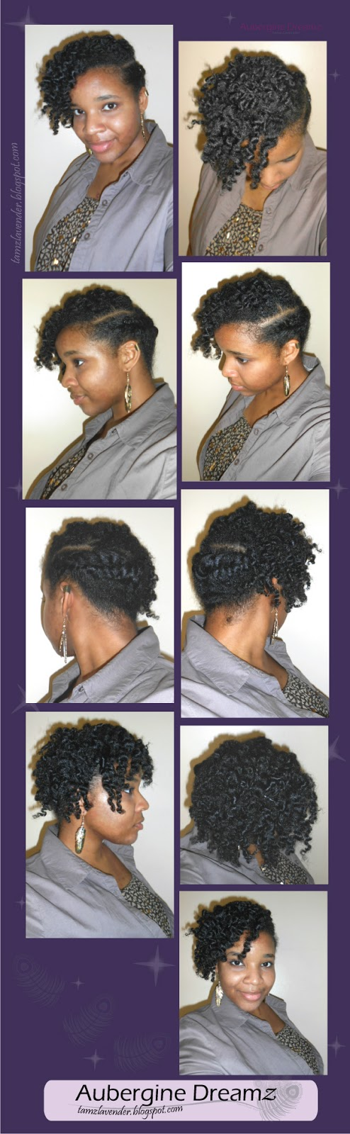 natural hair, twist out, curls, curly hair, edgy hair style, flat twists, asymmetrical hair style