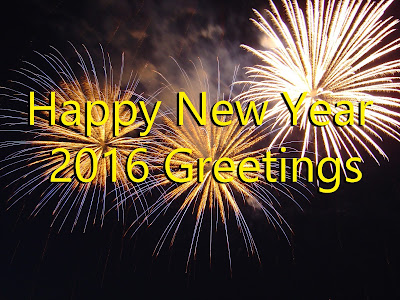 Happy New Year 2016 Greetings