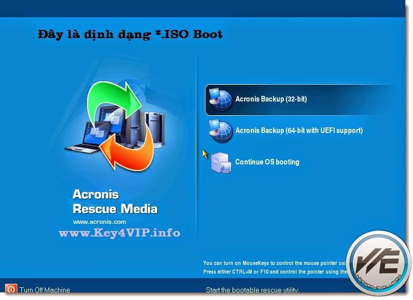 Acronis Backup Advanced 11.5.38774 BootCD,Sao lưu và cứu hộ hệ thống đa năng