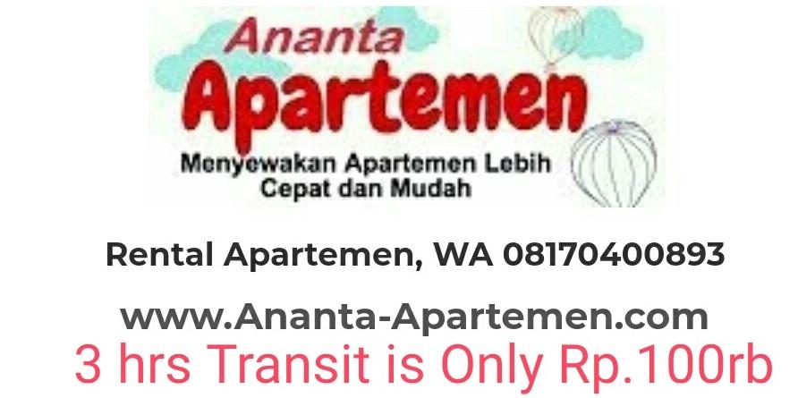 Ananta Apartemen Rent