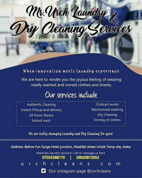 MR. URCH  LAUNDRY SERVICES
