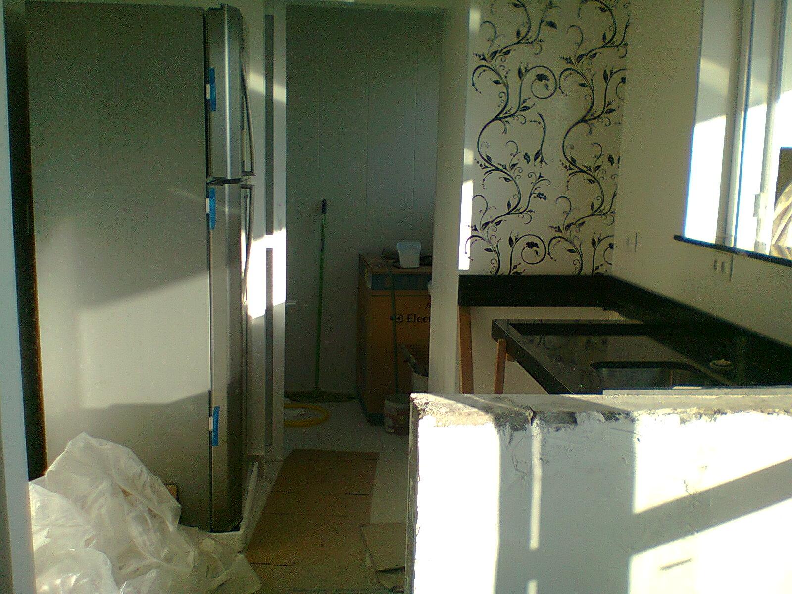 #848447 Nosso Ap E Nossa Vida: Instalação da pia da cozinha: quase ok! 1600x1200 px Projetos Da Instalação Da Cozinha_401 Imagens