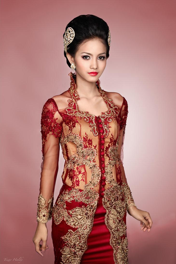 10 Koleksi Kebaya Dress Anna Avantie Model Terbaru