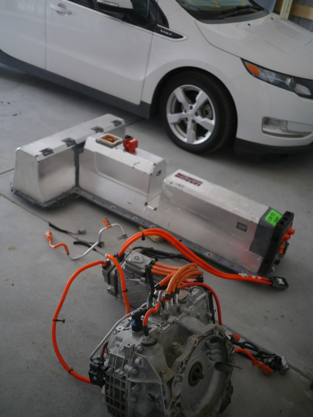 Attempting To Hack A Chevy Volt Drivetrain Diy Electric Car Forums Evs Alarm Wiring Diagram 2 Here Is Picture Of The Sitting Next Our Daily Driver 30000 Ev Miles And Going Strong