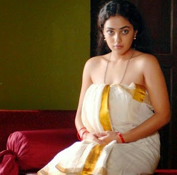 Nithya menon spicy hot halfsaree nude exposing photos