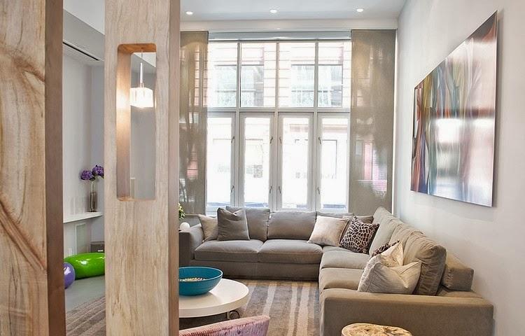 Guida tende loft minimalista a chelsea by betty wasserma for Tende casa minimalista