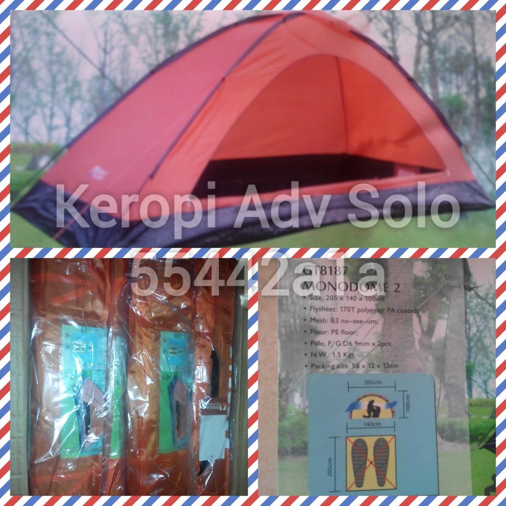 Keropi Adventure Solo Jual Tenda Camping Murah Great Outdoor Monodome 2 Kami Menjual