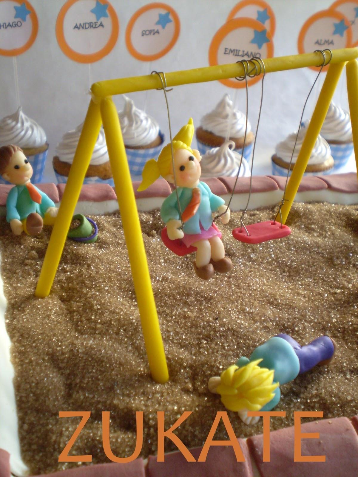 Torta egresaditos jardin de infantes zukate for Azul naranja jardin de infantes
