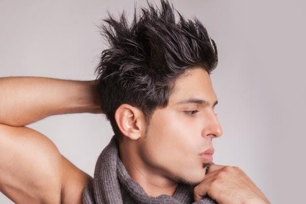 mens hairstyle ideas spiky hair 2013