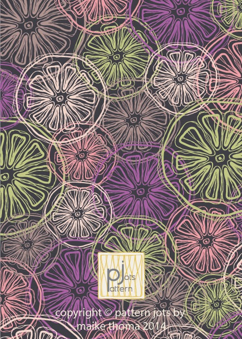 copyright © Pattern Jots by Maike Thoma 2014