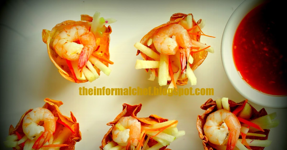 The informal chef asian inspired canape for Asian canape ideas