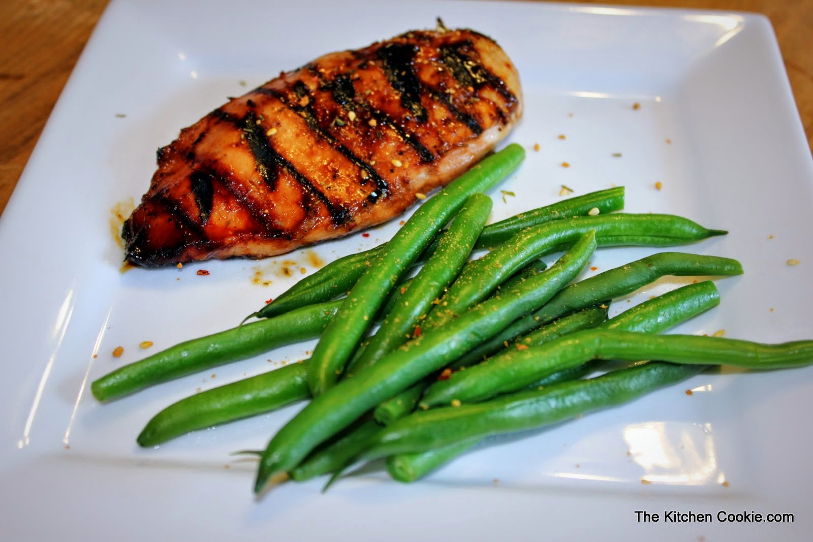 TheKitchenCookie: Grilled Asian Chicken Breast