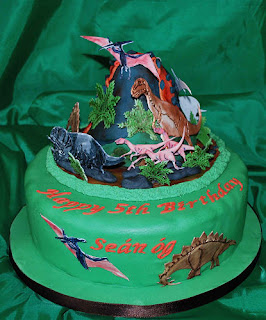 Dinosaurs Birthday Cake Toppers