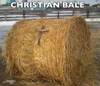 Funny Pun Punology - Christian Bale Photo