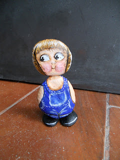 PIEDRAS PINTADAS: DOLLY DINGLE