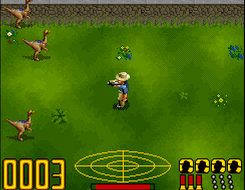 jurassic parck game snes download free