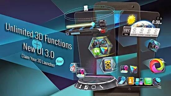 Next Launcher 3D Shell v3.18 APK