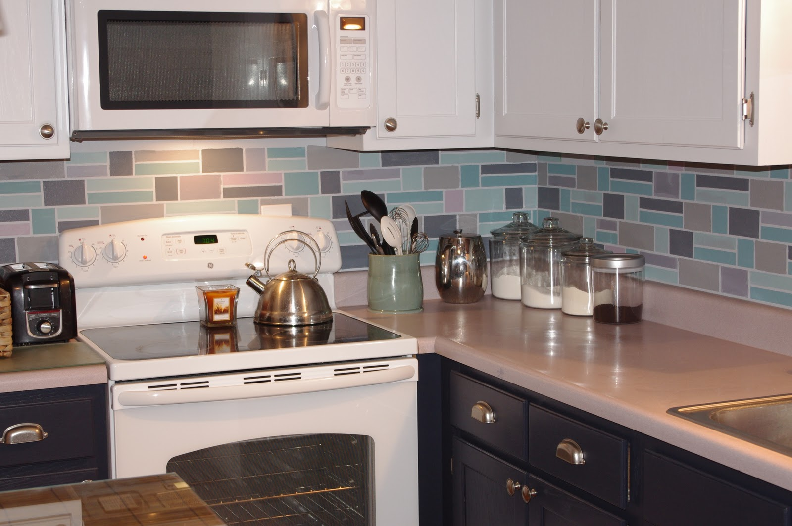 Uncategorized Painting Kitchen Backsplash Ideas 28 painted backsplash ideas kitchen 25 best images about gray eyed scorpio