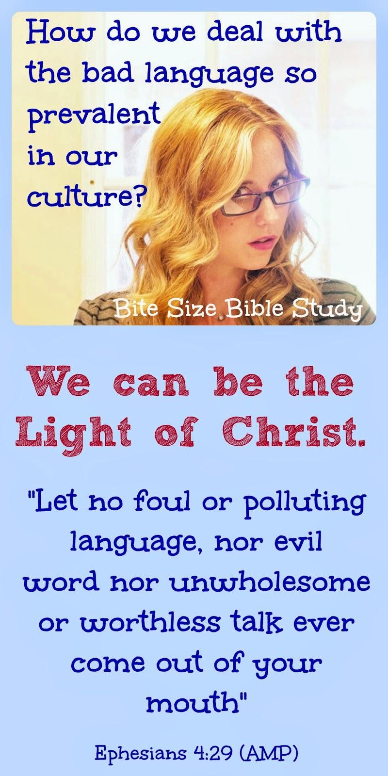 Bad Language | Bibleinfo.com
