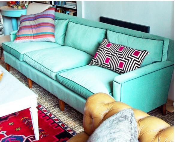 Alger 39 S Castle Vintage 1950s Sofa Reupholstery Mint