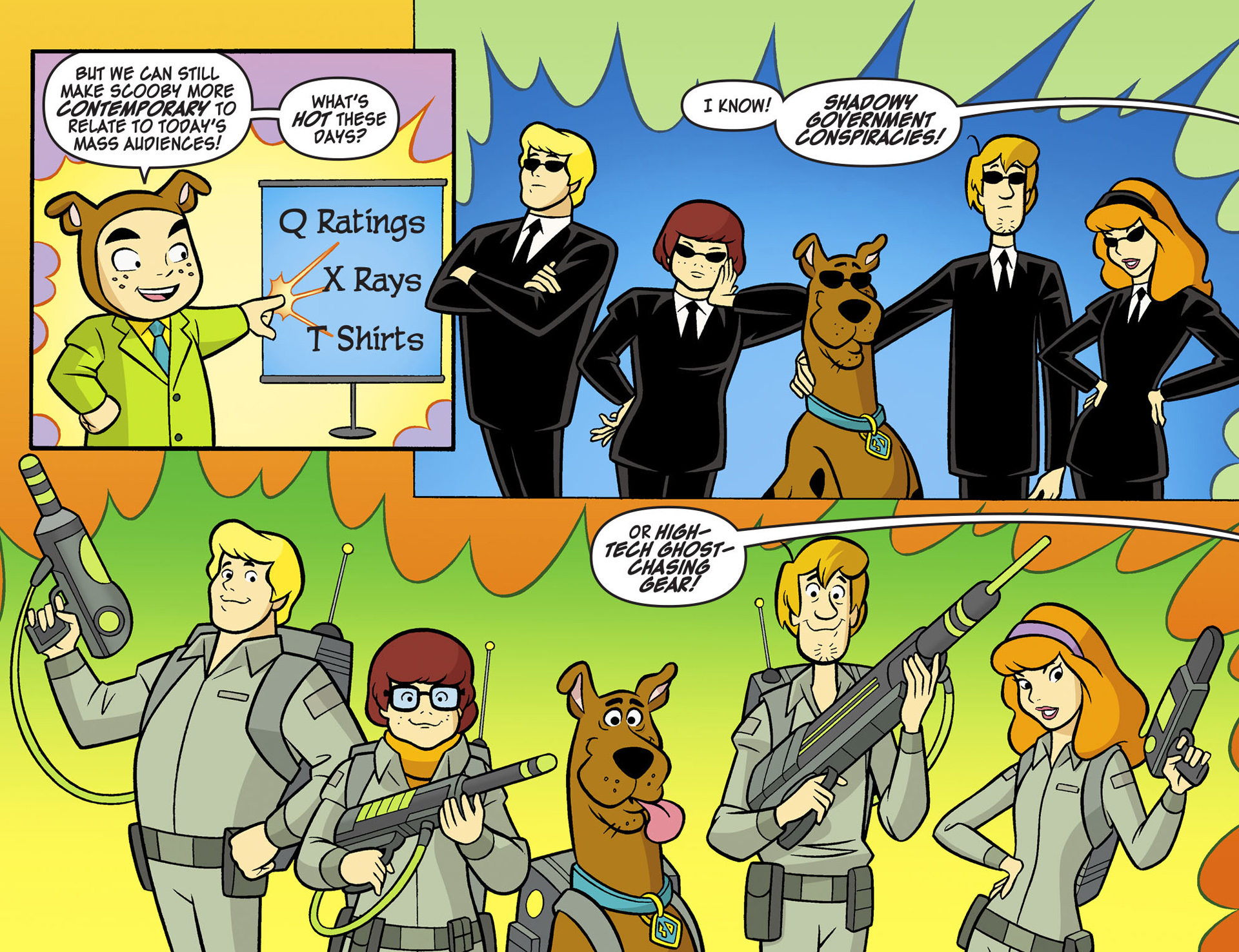 Read online Scooby-Doo! Team-Up comic -  Issue #6 - 9