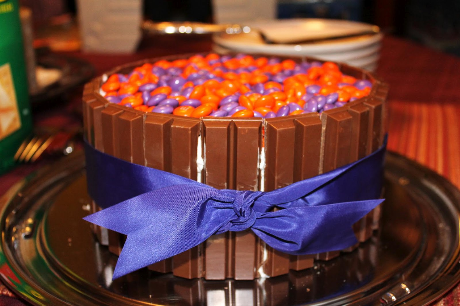 Kitkat Cake With Reese S