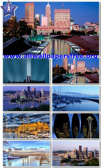 50 Amazing Cityscapes HD Wallpapers 1366 X 768 [Set 11]