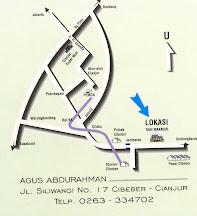 Peta Lokasi Tani Makmur