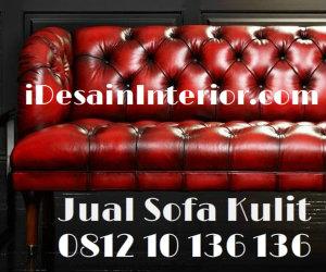 Jual Sofa Kulit